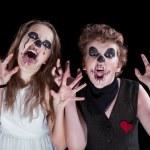 Groom and bride - zombie — Stock Photo #25982151