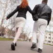 Walking Couple — Stock Photo #26044119