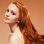 Beauty Portrait. Curly Hair — Stock Photo