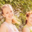 Girls in park — Stock Photo #29641861