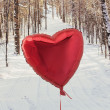 Stock Photo: In the winter with love