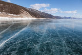 Lago in inverno — Foto Stock