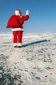 Farewell Santa Claus — Stock Photo