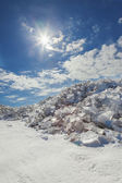 Winter treasures of Lake Baikal — Stock Photo