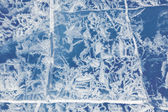 Texture of ice — Stock Photo