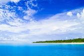 Ilha tropical — Fotografia Stock