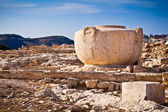 Large artistic ancient Greek stone jub in Limassol, Cyprus — Stock Photo