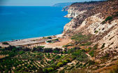 Kust van cyprus — Stockfoto