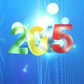 2015 — Foto de Stock