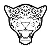 Vector illustration of jaguar — Stock Vector