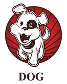 Dog zodiac — Stock Vector