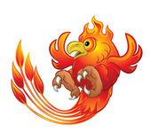 Phoenix Bird — Stockvector