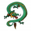 Vector de stock : Dragon