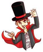 Magician Man — Stock Vector