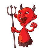 Devil — Stock Vector