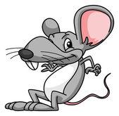 Rat Cartoon Funny — Stock Vector