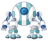 Ball Robot — Stock Vector