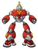 Red Robot — Stock Vector