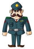 Genel ordusu — Stok Vektör