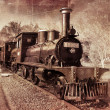 Vintage Locomotive - Stock Photo
