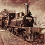 Vintage Locomotive — Stock Photo