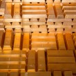 Royalty-Free Stock Photo: Stacks of Gold Bars