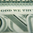 Stock Photo: In God We Trust