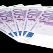 5 x 500 Euro bank notes — Stock Photo #19077253
