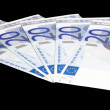 5 x 20 Euro bank notes — Stock Photo #19077325