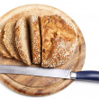 Sliced Wholemeal Bread (XXL) — Stock Photo