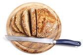 Sliced Wholemeal Bread (XXL) — Stock Photo