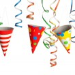 Party - Streamers and Hats — Stock Photo #21802477