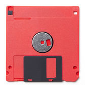 Floppy disks from the late 1980s and 90s — Stock Photo