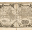 Stock Photo: Antique Map - Old Dutch - World Map