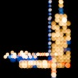 City Lights - Vertical - Abstract — Stock fotografie #35014221