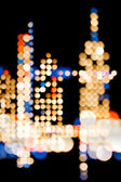 City Lights - Vertical - Abstract — Stock Photo