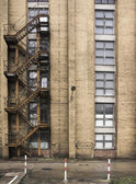 Industrial building with stairwell — Stock Photo