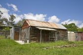 Rural shed in the former australian gold mining town of Sofala — Stock Photo