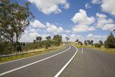 Open road australia — Stock Photo