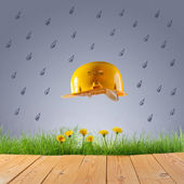 Protección de la naturaleza de las emisiones industriales — Foto de Stock