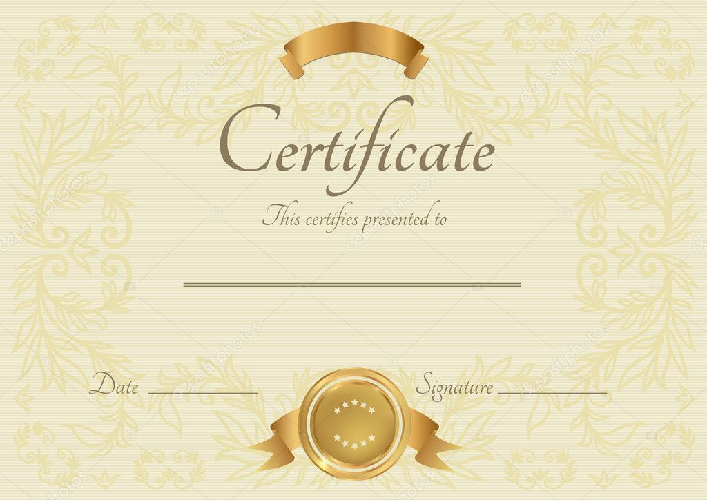 Free Templates For Certificates