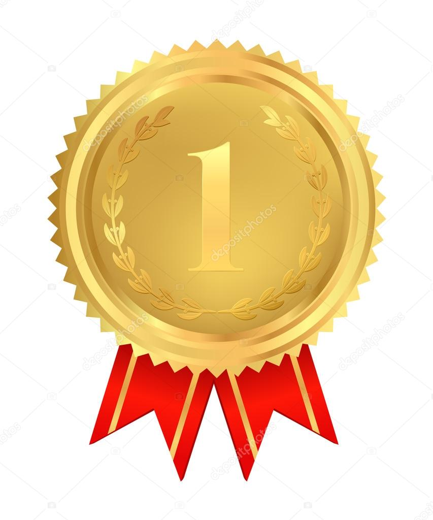 медали за 1 место картинки