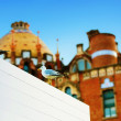 Hospital de la Santa Creu i Sant Pau, Spain - Stock Photo