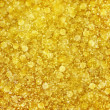 Abstract golden background with gold twinkling bokeh pattern - Stock Photo