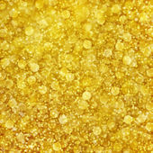 Zlaté pozadí abstraktní s zlaté třpytící bokeh vzorem — Stock fotografie
