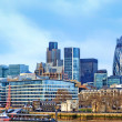 Modern buildings in London, cityscape — Stock Photo