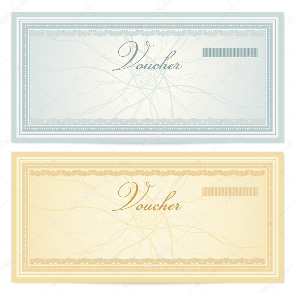 free voucher template design a voucher template wordpress theme – Money Voucher Template