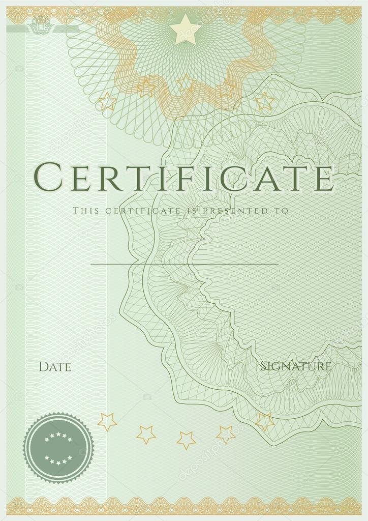 Download - Certificate of completion (template or sample background ...