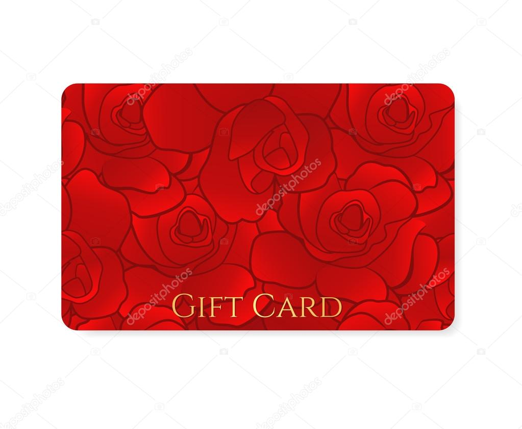 Gift card business card discount card template layout for Gift card for business