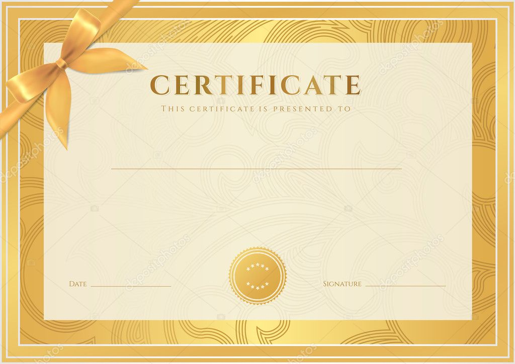 Certificat dipl me de r alisation mod le arri re plan for Nebraska certificate of organization template